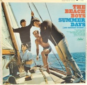 The Beach Boys - Summer Days (And Summer Nights!!) cover art