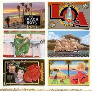 The Beach Boys - L.A. (Light Album) cover art