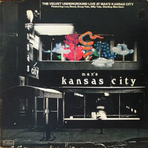 The Velvet Underground - Live at Max's Kansas City cover art