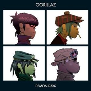 Gorillaz - Demon Days cover art