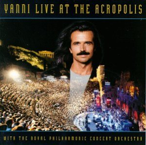 Yanni - Live at the Acropolis cover art