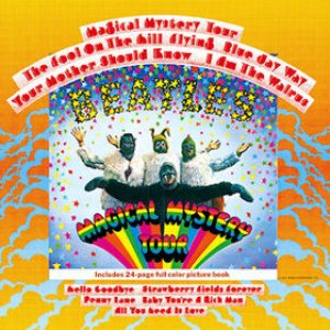The Beatles - Magical Mystery Tour cover art