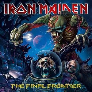 Iron Maiden - The Final Frontier cover art