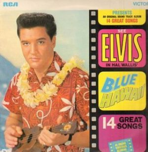 Elvis Presley - Blue Hawaii cover art