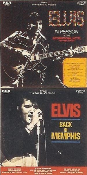 Elvis Presley - From Memphis to Vegas/From Vegas to Memphis cover art