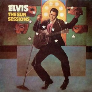 Elvis Presley - The Sun Sessions cover art