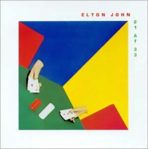 Elton John - 21 at 33 cover art