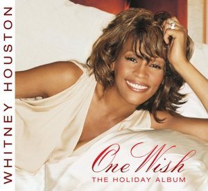 Whitney Houston - One Wish: the Holiday Album cover art