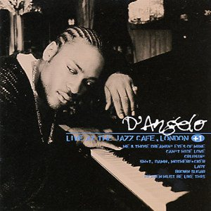 D'Angelo - Live at the Jazz Cafe, London cover art