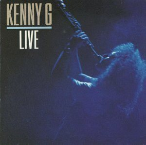 Kenny G - Live cover art