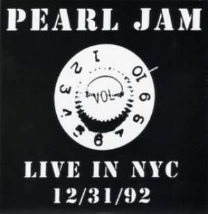 Pearl Jam - Live in NYC - 12/31/92 cover art