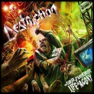 Destruction - The Curse of the Antichrist: Live in Agony cover art