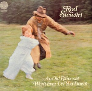 Rod Stewart - An Old Raincoat Won't Ever Let You Down cover art