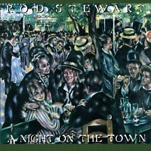 Rod Stewart - A Night on the Town cover art