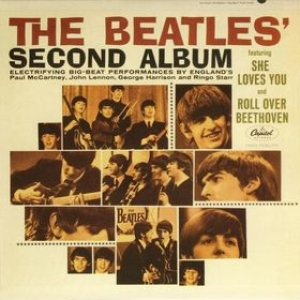 The Beatles - The Beatles' Second Album cover art