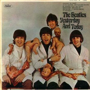 "The Beatles - ""Yesterday""...and Today cover art"