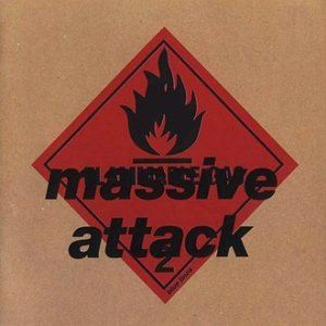 Massive Attack - Blue Lines cover art