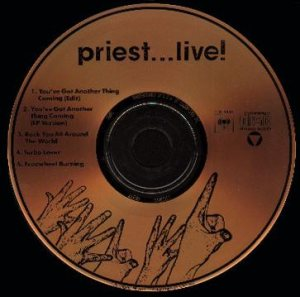 Judas Priest - Priest... Live Promo cover art