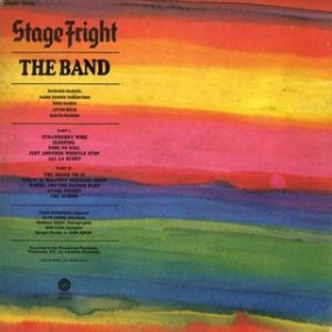 The Band - Stage Fright cover art