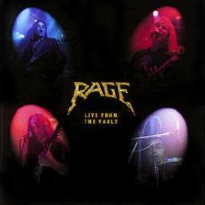 Rage - Live from the Vault cover art