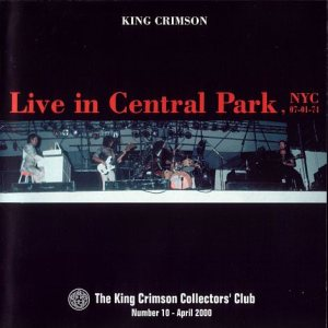King Crimson - Live in Central Park, NYC cover art