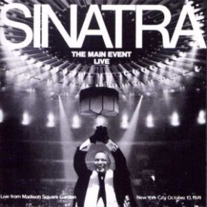 Frank Sinatra - The Main Event – Live cover art