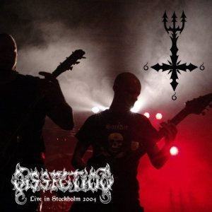 Dissection - Live in Stockholm 2004 cover art