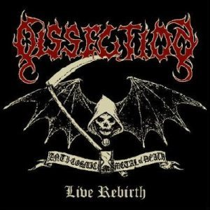 Dissection - Live Rebirth cover art