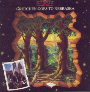 King's X - Gretchen Goes to Nebraska cover art