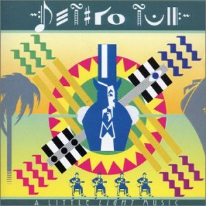 Jethro Tull - A Little Light Music cover art