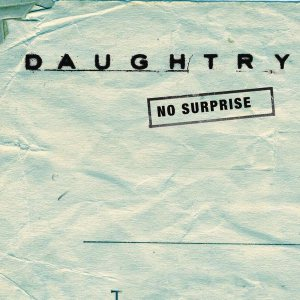 Daughtry - No Surprise cover art