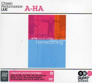 A-ha - Homecoming - Live at Vallhall cover art