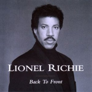 Lionel Richie - Back to Front cover art