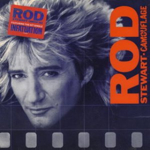 Rod Stewart - Camouflage cover art