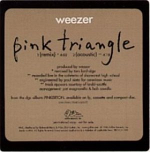 Weezer - Pink Triangle cover art