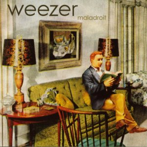 Weezer - Maladroit cover art