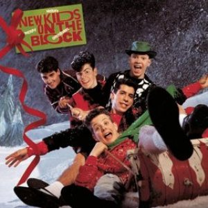 New Kids on the Block - Merry, Merry Christmas cover art