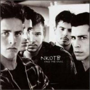 New Kids on the Block - Face the Music cover art