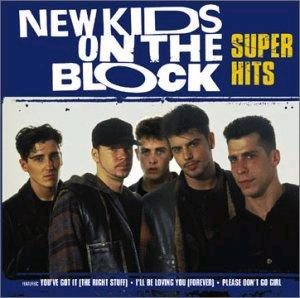 New Kids on the Block - Super Hits cover art