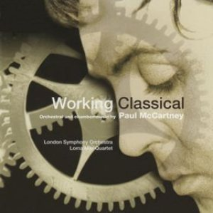 Paul McCartney - Working Classical cover art