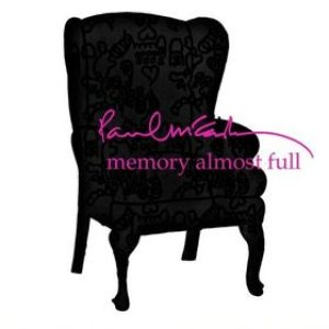 Paul McCartney - Memory Almost Full cover art