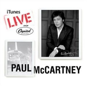 Paul McCartney - iTunes Live From Capitol Studios cover art