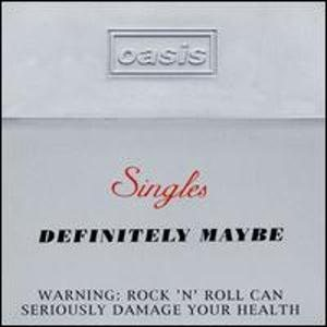 Oasis - Definitely Maybe - Singles Box Set cover art