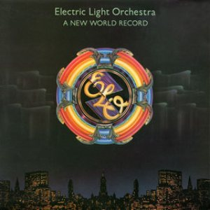 Electric Light Orchestra - A New World Record cover art