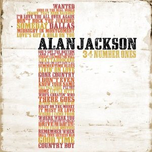 Alan Jackson - 34 Number Ones cover art