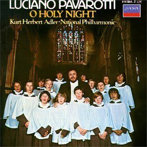 Luciano Pavarotti - O Holy Night cover art