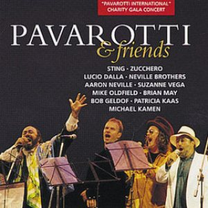 Luciano Pavarotti - Pavarotti & Friends cover art