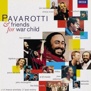 Luciano Pavarotti - Pavarotti & Friends for War Child cover art