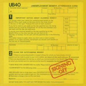 UB40 - Signing Off cover art
