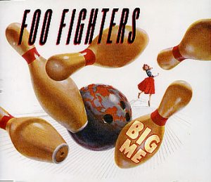 Foo Fighters - Big Me cover art